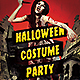 Halloween Costume Party Flyer v2 - GraphicRiver Item for Sale