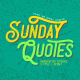 Sunday Quotes - 3 Font Styles - GraphicRiver Item for Sale