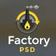 Factory Industrial - Engineering PSD Template - ThemeForest Item for Sale