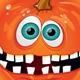 Halloween Pumpkin with Broken Teeth - GraphicRiver Item for Sale
