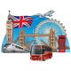 Travel in London - GraphicRiver Item for Sale