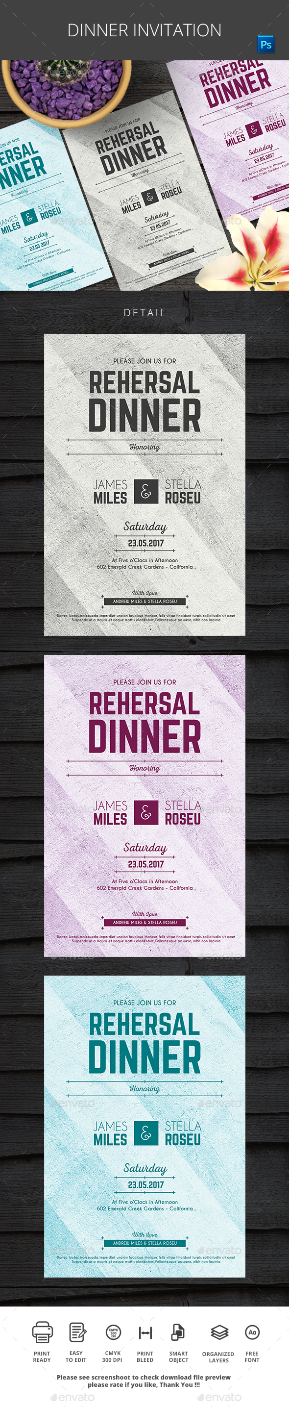 Invitation Invitation Templates From Graphicriver Page 8