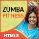 GWD | Zumba Class Fitness HTML Banners - 07 Sizes - CodeCanyon Item for Sale