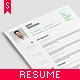 Clean Resume / CV - GraphicRiver Item for Sale