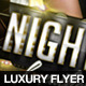 Luxury Nightclub Flyer Template - GraphicRiver Item for Sale