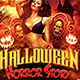 Halloween Horror Story Flyer Template - GraphicRiver Item for Sale