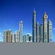Dubai building - 3DOcean Item for Sale