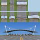 Highway toll station - 3DOcean Item for Sale