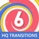 6 Transitions Pack With Opener - VideoHive Item for Sale