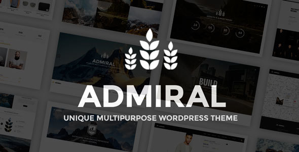 Admiral - Unique Multipurpose WordPress Theme