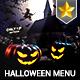 Halloween Set Menu Templates - GraphicRiver Item for Sale