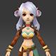 Cartoon Character Thali - 3DOcean Item for Sale