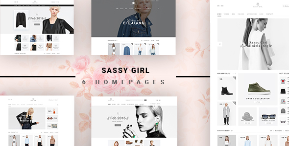 Sassy Girl - Fashion Store HTML Template