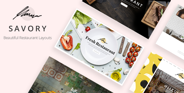 Savory - Restaurant WordPress Theme