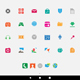 Colorful Smartphone Apps and Icons - GraphicRiver Item for Sale