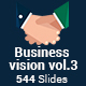 Business vision vol.3 - 2 in 1 PowerPoint Template Bundle - GraphicRiver Item for Sale