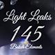 Ultimate Light Leak Pack - 145 Bokeh Elements - VideoHive Item for Sale