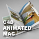 C4d Real Magazine Animation (NO VRAY NEEDED) - 3DOcean Item for Sale