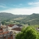Vineyards On The Hills Of Portugal With Nice Houses Near Sesimbra - VideoHive Item for Sale