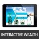 Interactive Wealth Management Template - GraphicRiver Item for Sale