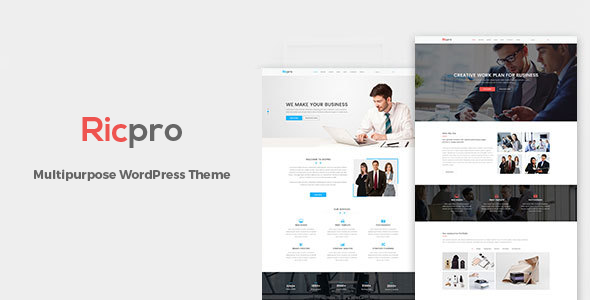 Ricpro – Multipurpose Business WordPress Theme