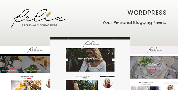Felix – Personal Blogging WordPress Theme
