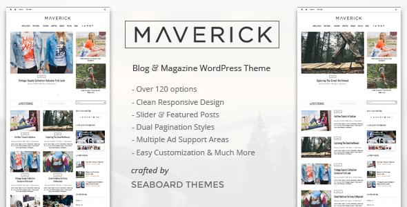 Maverick - A WordPress Magazine Theme