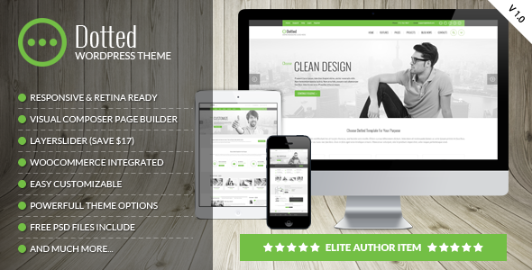Dotted - Corporate Multipurpose WordPress Theme