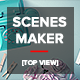 Scenes Maker [Top View] - GraphicRiver Item for Sale