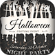 3 Halloween Flyers/Cards Vintage&Typography - GraphicRiver Item for Sale