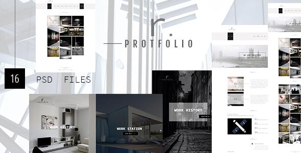 R.PROTFOLIO - Creative Personal/Company Portfolio template