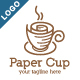 Paper Cup Logo - GraphicRiver Item for Sale