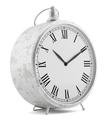 vintage clock isolated on white background. 3d illustration - PhotoDune Item for Sale