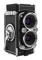vintage film photo camera isolated on white background. 3d illustration - PhotoDune Item for Sale
