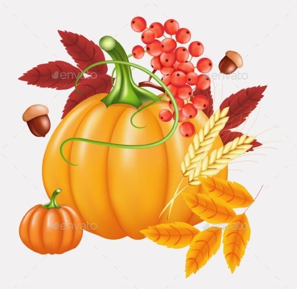Happy Thanksgiving Celebration Background. Autumn