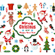 Big Set of Christmas and New Year Icons in Flat Style - GraphicRiver Item for Sale