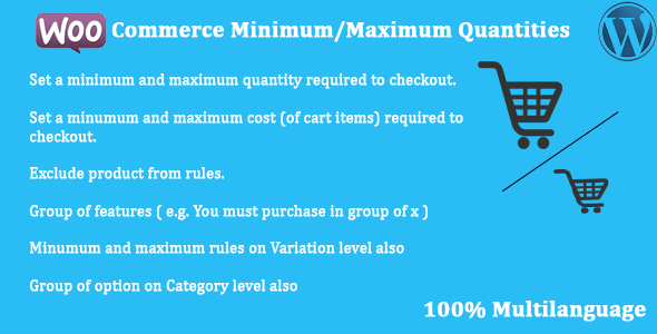 Codecanyon | WooCommerce - Minimum/Maximum Quantities Free Download free download Codecanyon | WooCommerce - Minimum/Maximum Quantities Free Download nulled Codecanyon | WooCommerce - Minimum/Maximum Quantities Free Download