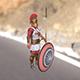 Greek hoplite - 3DOcean Item for Sale