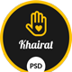 Khairat – Landing Page PSD Charity Template - ThemeForest Item for Sale