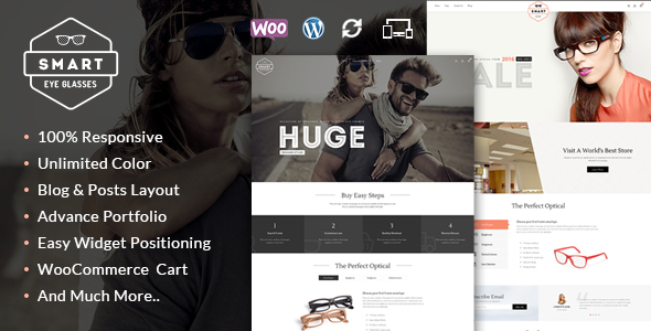 Smart Eye Glasses WooCommerce Theme