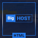 BigHost - Web Hosting Domain Technology HTML Template - ThemeForest Item for Sale
