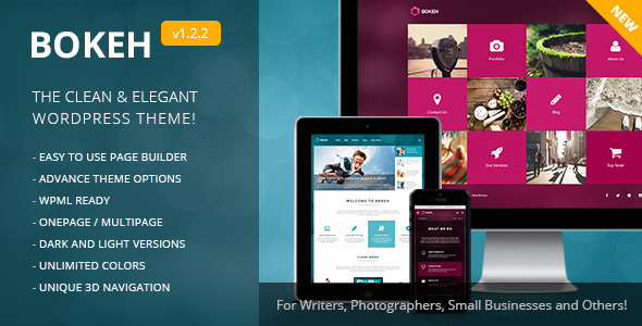 Model Templates from ThemeForest