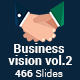 Business vision vol .2 -2 in 1 PowerPoint Template Bundle - GraphicRiver Item for Sale