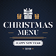 Christmas Menu II - GraphicRiver Item for Sale