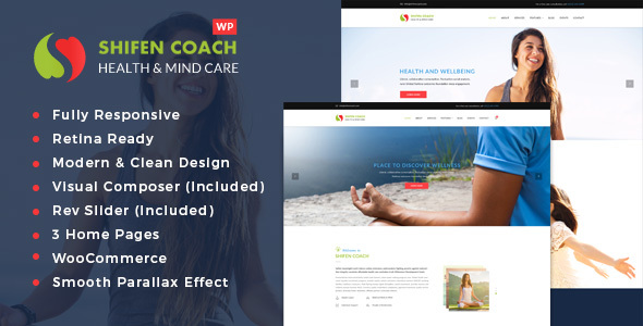 Shifen Coach - Personal Development Coach WordPress Theme