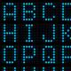 3D dot-matrix font - GraphicRiver Item for Sale
