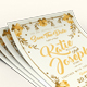 Flower Wedding Invitation - GraphicRiver Item for Sale