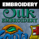 Silk Embroidery Effect Photoshop Action - GraphicRiver Item for Sale