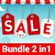 Big / Mega Sale Flyer Template (Bundle 2 in 1) - GraphicRiver Item for Sale