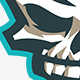 Skull Mascot - GraphicRiver Item for Sale